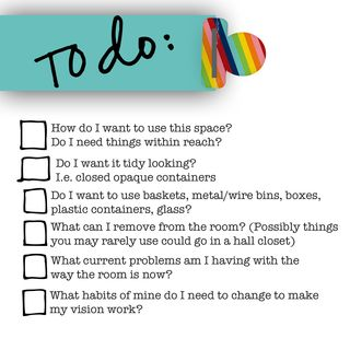 To Do list for blog